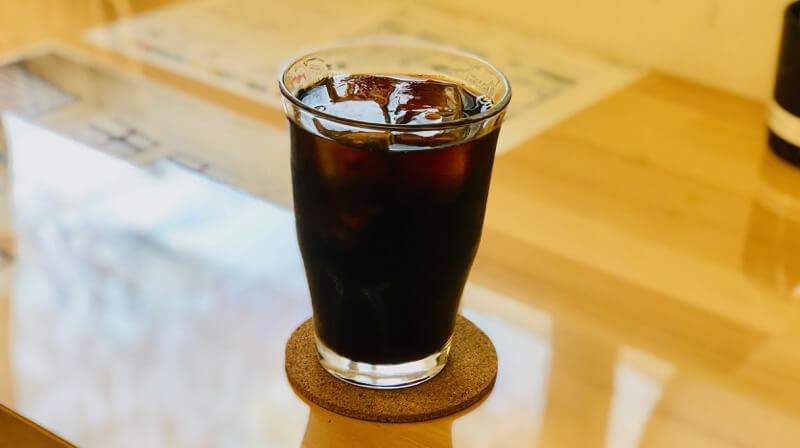 カフェあるこのアイスコーヒー